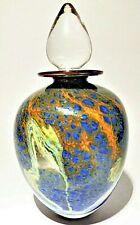 Stunning British Studio Art Glass scent decanter sculpture