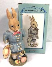 The Victorian Collection Figurine Bently Bunny Spring Easter VA25