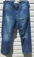 Levi Strauss & Co. Straight Fit Men's Size 30 x 32 blue denim jeans