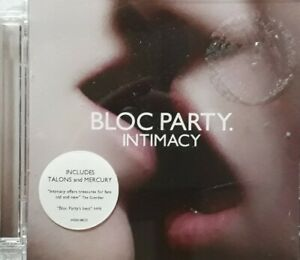 Bloc Party-Intimacy CD.2008 Wichita 5055036261852.Talons/Mercury/Trojan Horse+
