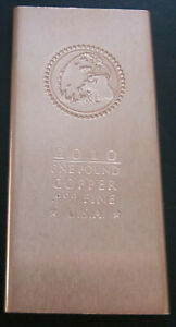 "Copper Bar ONE FOOT LENGTH 12x1x1//8/"" .9995 Raw Bullion Cut Investment Vg Preciou"