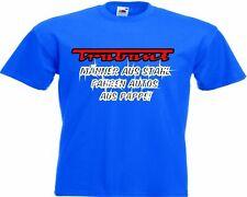 Motiv Fun T-Shirt Trabbi Trabant Männer Aus Stahl Auto Car Hot Roa Motiv