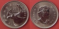 Specimen 2008 Canada 25 Cents From Mint's Set