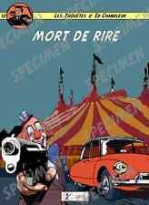 """""""Mort de rire"""" dessin numérique  CITROËN DS19 style BD par JICEHER"""