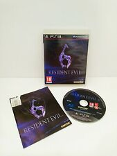 Resident Evil 6 Juego PS3 Playstation 3