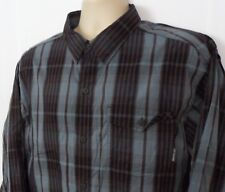 Mens Columbia Omni-Wick Long Sleeve Shirt Button Front Size XL Vented