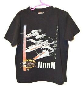 Vintage 1996 Star Wars X-Wing Rogue Squadron Youth Boys Girls T-shirt 5-6M