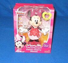 Fisher Price Disney Junior Minnie Sweet Cherry Minnie Snap On Figure Y1910 New