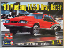 REVELL 90' FORD MUSTANG LX 5.0 DRAG RACER CAR KIT model race 1:25 Scale 85-4195