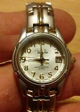 Vtg Vanity Fair Datejust ladies watch, running with new battery NR I