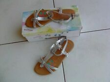 chaussures sandales  grise  pointure 38