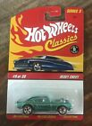 Hot Wheels Classics  Series 3  Heavy Chevy Teal  MINT ON CARD