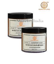 Khadi Herbal Anti Dandruff Cream Nourished and Moisturised Hari 100 GM