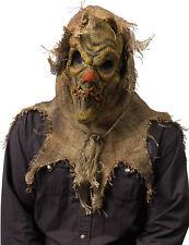 Scarecrow Burlap Scary Mask Natural Wizard of Oz Batman Halloween