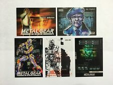 Metal Gear Solid Trading Cards basic series, many available pick 1 from list MGS