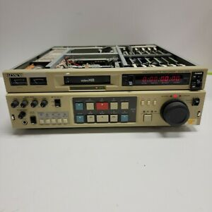 UNTESTED - Sony Video Hi8 EVO-9850 Video Editor Video Cassette Recorder - CLEAN