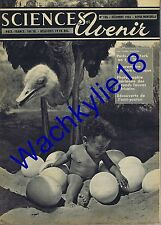 Sciences et avenir n°106 du 12/1955 Bébé œuf Autruche Séquoïas dendrochronologie