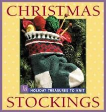 Christmas Stockings: Holiday Treasures to Knit-ExLibrary