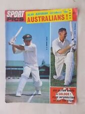 AUSTRALIA ASHES CRICKET TOUR OF ENGLAND 1964 BROCHURE SOUVENIR GUIDE
