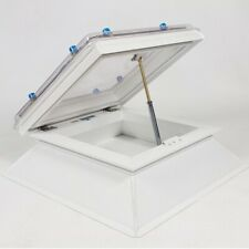 Coxdome Trade Range Dome Rooflight Manual Vent opening Skylight FREE WINDER