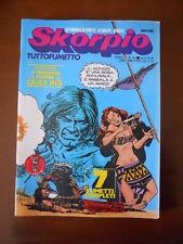SKORPIO n°36 1978 Ed. Eura   [G602] - con Poster allegato