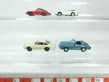 bh84-0,5 #4x WIKING H0/1:87 AUTOVETTURA/Modello Porsche: 911+ 911C,