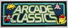 MULTICADE Arcade Classics Fluorescent Marquee Screen Printed - PA EXCLUSIVE!