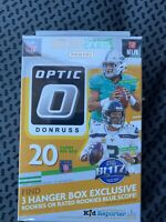 2020 Donruss OPTIC Football HANGER Box- NFL New Sealed! Herbert, Burrow, Tua??