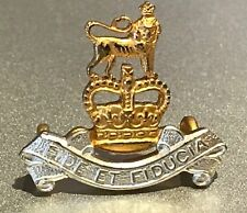 A very clean and crisp gilt and silver washed Army Pay Corps Cap Badge.       T5