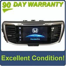2016 2017 Honda Accord OEM Touch Screen Navigation Single CD Bluetooth Radio