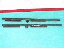 1935-36 FORD COUPE ALL  DOOR GLASS CHANNELS  PAIR  NORS  817