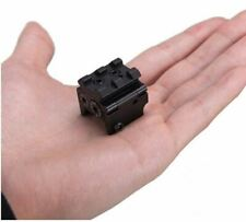 Compact Red Dot Laser Sight Pointer 20mm Weaver/Picatinny Rail Mount - US Seller