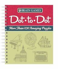 Brain Games Dot-to-Dot: More than 120 Amazing Puzzles