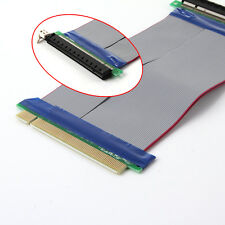 PCI-E Express 16X Slot Riser Card Extender Extension Ribbon Flex Cable Adapter
