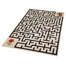 Tapis pour enfants spieleteppich Labyrinthe Maya l'abeille & fleur 120x170 cm