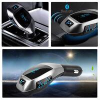 Funk Bluetooth Freisprecheinrichtung Auto KFZ Car Kit LCD Display FM Transmitter