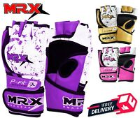 Boxing MMA Gloves UFC Grappling Punching Bag Training Kickboxing Fight Sparring