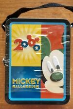 NEW Old Stock, Disney Mickey Mouse Millennium Mini Lunch Box w/Chocolate Candy