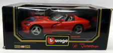 Burago 1/18 Scale Diecast - 3025 Dodge Viper RT/10 1992 Red Airbrush edition