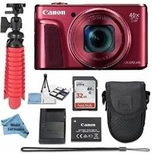 Canon Powershot SX720 (Red) Point & Shoot Digital Camera + Accessory Bundle + Mo