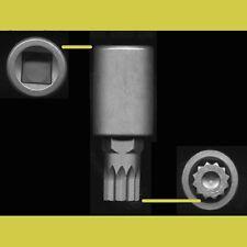 Porsche Triple Square 12-point XZN 16mm Transmission Drain Plug Socket Bit Tool