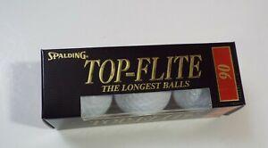 Top-Flite 90 Tour Model Brand New Golf Balls Sleeve Vintage