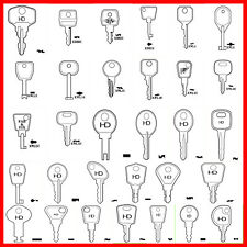 Window Key uPVC Replacement Keys Locking Handle Key *Various Types* Spare Key