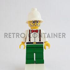 LEGO Minifigures - 1x adv006 adv040 - Dr. Charles Lightning - Adventurers Omino