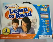 Hooked On Phonics Education Home School Learn To Read Kinder 1st Grade 4-7 Years