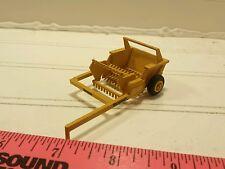 1/64 CUSTOM ERTL farm toy vermeer rock picker moveable flotation tires! Plastic!
