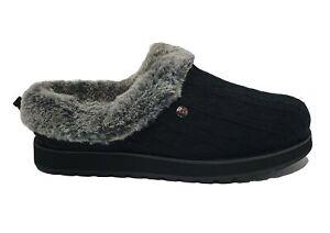 Skechers Slippers Keepsake Ice Angel Memory Foam Fur Mules Slippers Shoes Size