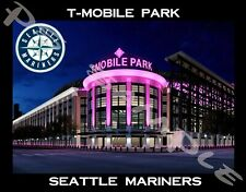Seattle Mariners - T-MOBILE PARK - Travel Souvenir Flexible Fridge MAGNET