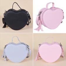 Women's Cute Heart-shaped Messenger Handbag Cross Bag Clutch Wallet Bags Fashion