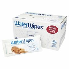 WaterWipes Natural and Sensitive 12 X 60 (720 Wipes) Chemical Baby Wipes